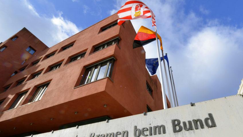 Vorderansicht der Vertretung des Landes Bremen beim Bund