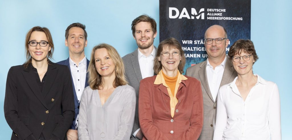 Staff of the DAM (German Alliance for Marine Research)