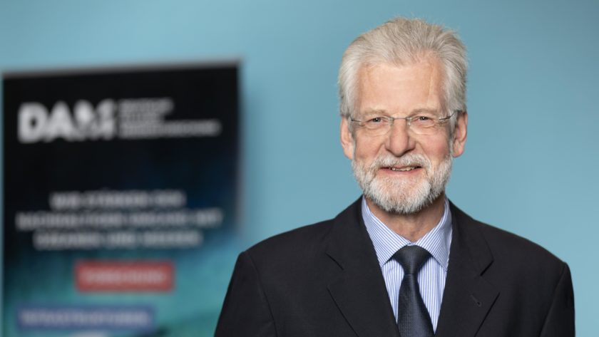 Prof. Peter Herzig is a member of the Executive Board of DAM (German Marine Research Alliance)