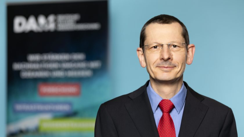 Prof. Michael Schulz is a member of the Executive Board of DAM (German Marine Research Alliance)
