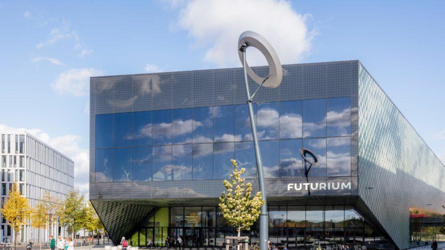 Deutschen Allianz Meeresforschung DAM für Nachhaltigkeit . Das FUTURIUM - Haus der Zukünfte, in Berlin