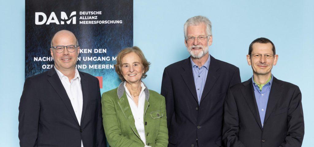 Vorstand der DAM (Deutsche Allianz Meeresforschung)