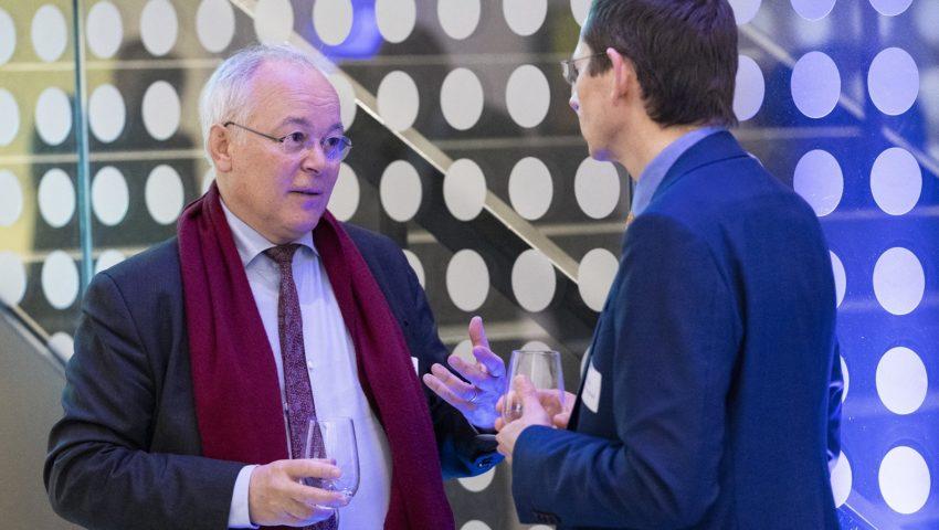 Francois Houllier und Michael Schulz bei der Auftaktveranstaltung der Deutschen Allianz Meeresforschung DAM
