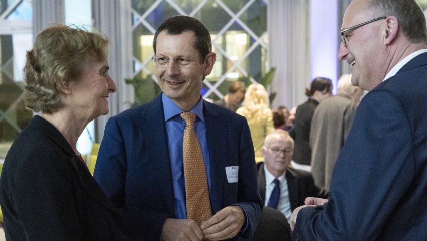 Karin Lochte, Michael Schulz und Michael Meister bei der Auftaktveranstaltung der Deutschen Allianz Meeresforschung DAM