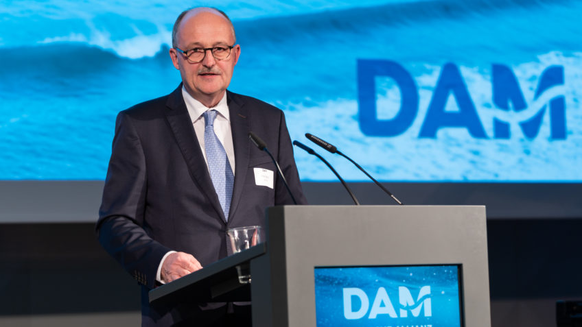 Michael Meister at the German Marine Research Alliance DAM