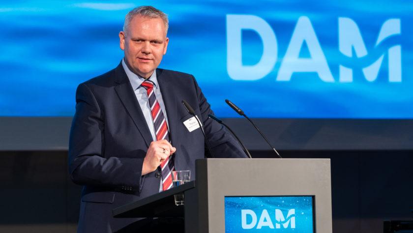 Björn Thümler at the German Marine Research Alliance DAM