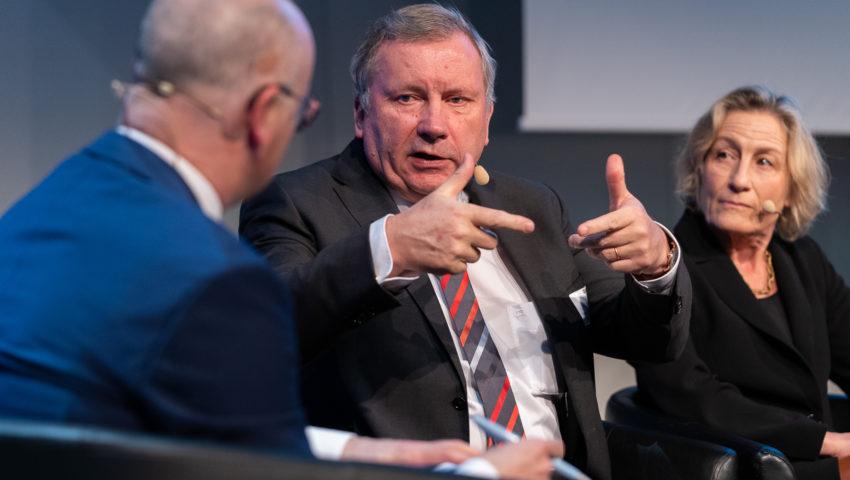 Norbert Brackmann, Koordinator der Bundesregierung für die maritime Wirtschaft, bei der Auftaktveranstaltung der DAM
