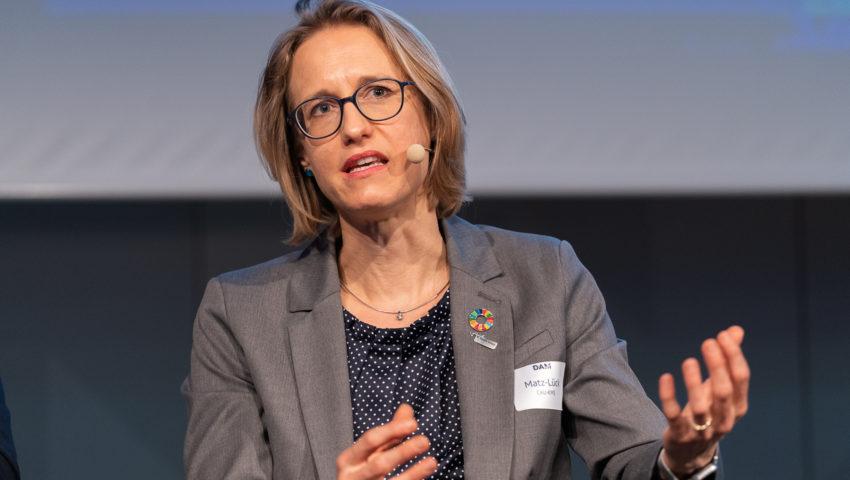 Nele Matz-Lück, Sprecherin des Future Ocean Netzwerks an der CAU Kiel bei der Auftaktveranstaltung der DAM