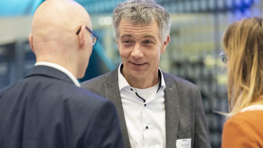 Andreas Oschlies bei der Auftaktveranstaltung der Deutschen Allianz Meeresforschung DAM