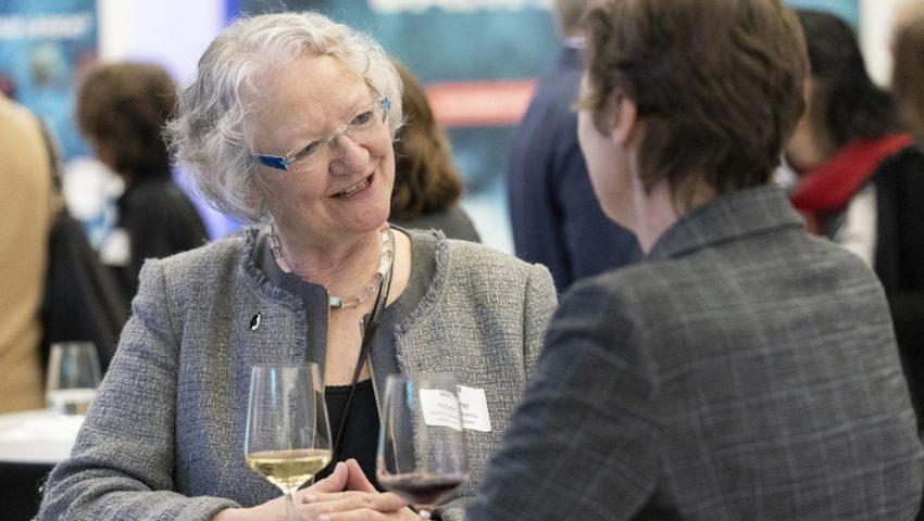 Gisela Meissner bei der Auftaktveranstaltung der Deutschen Allianz Meeresforschung DAM