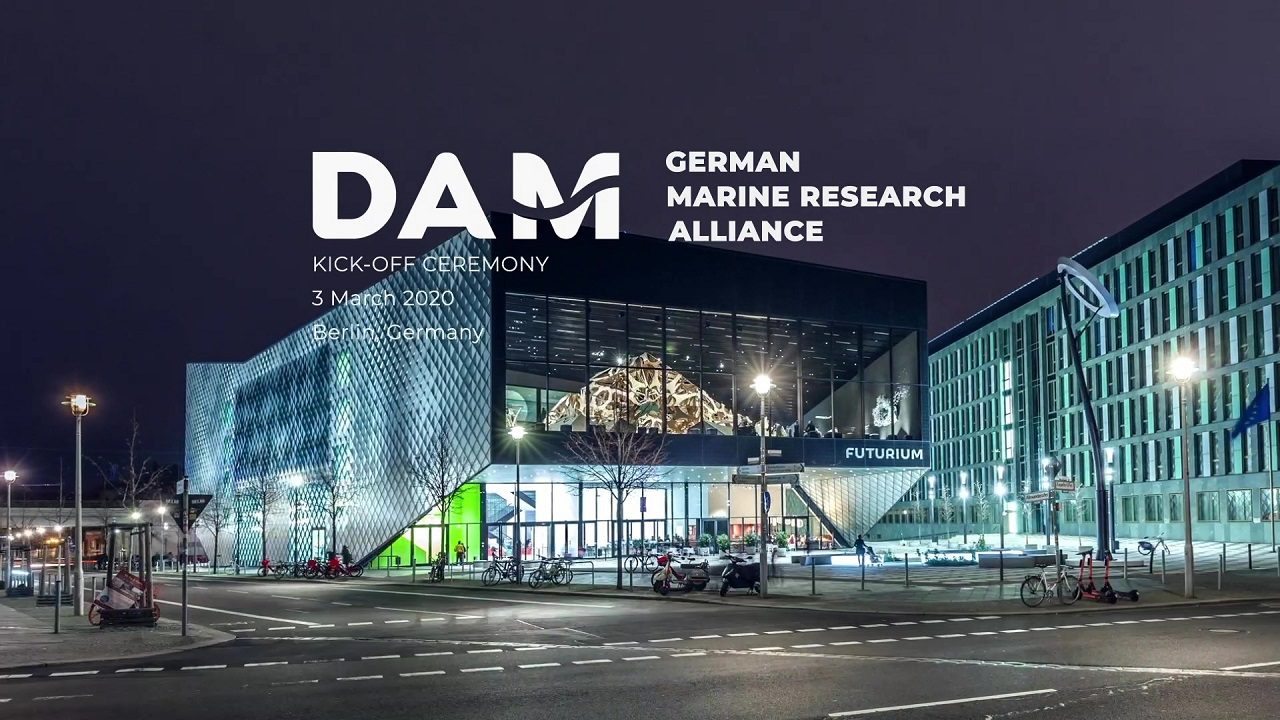 Launch event of the German Marine Research Alliance (DAM) at the Futurium in Berlin