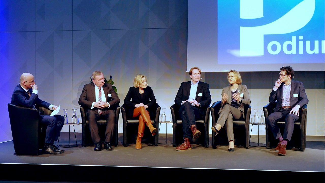 """Podiumsgespräch """"MEER Nachhaltigkeit: Vom Wissen zum Handeln"""" bei der Auftaktveranstaltung der Deutschen Allianz Meeresforschung (DAM) im FUTURIUM"""