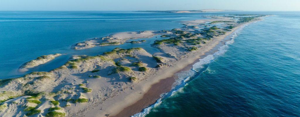 Das Bazaruto Archipel im Indischen Ozean