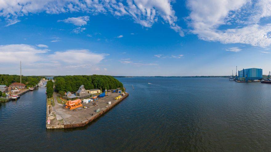 Insel Dänholm mit NAUTINEUM