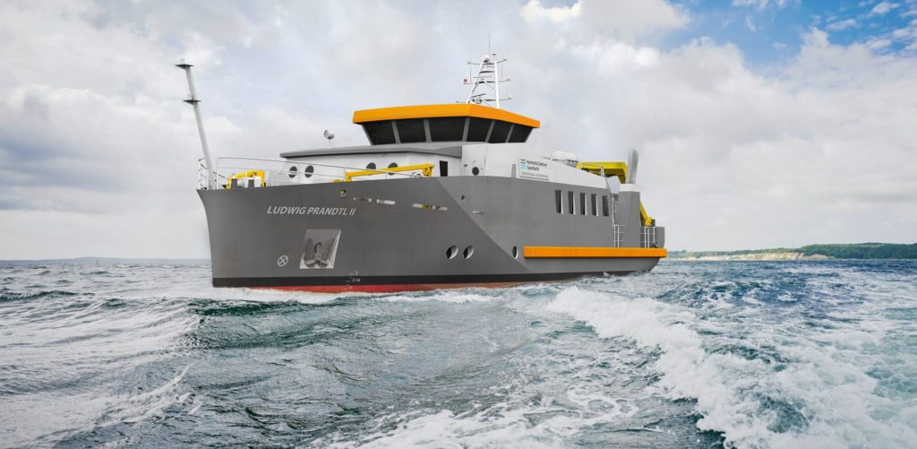 Neubau des Forschungsschiffs LUDWIG PRANDTL II