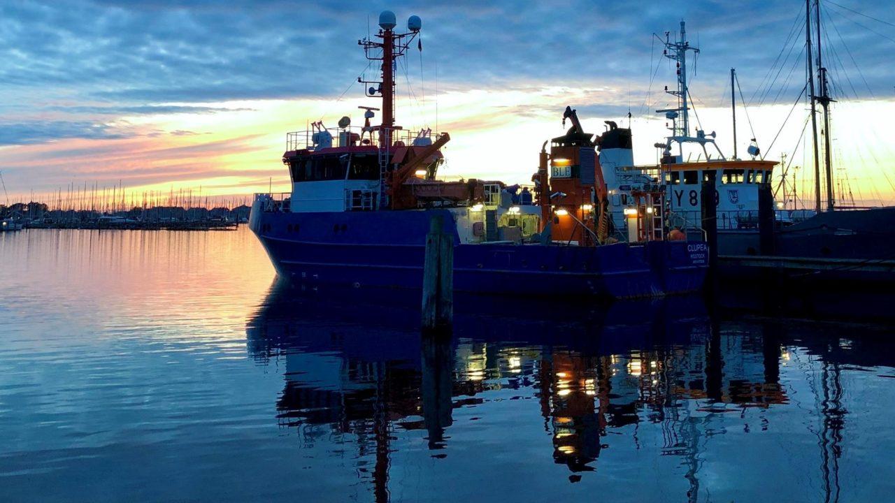 Forschungsschiff Clupea in Heiligenhafen
