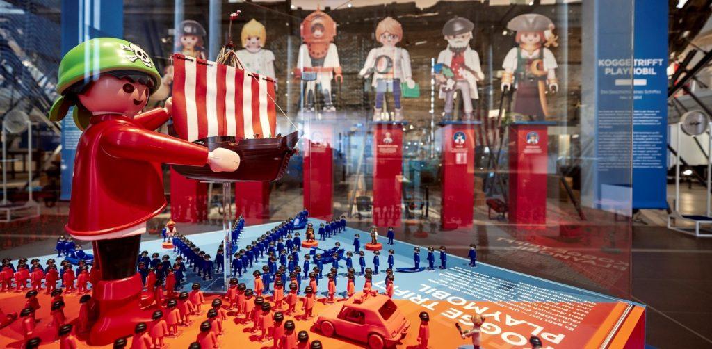 Playmobil Ausstellung im Deutschen Schifffahrtsmuseum