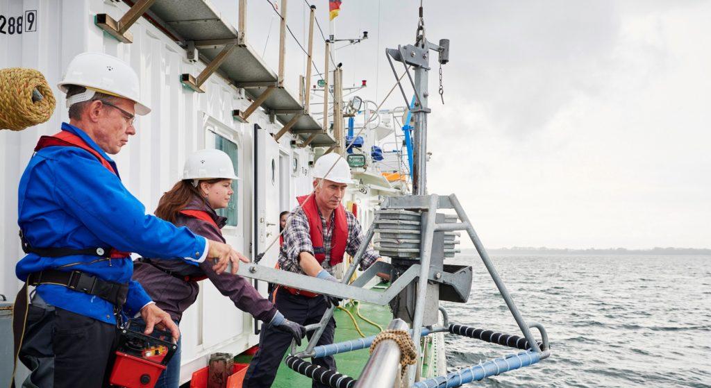 Suche nach Schadstoffen im Meer