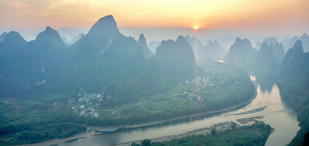 Xianggong Mountain, China