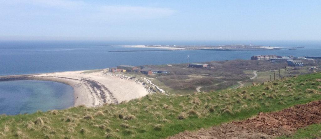 Sand gibt es genug auf der Nordseeinsel Helgoland.
