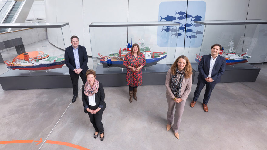 Gruppenfoto der Norddeutschen Wissenschaftsministerkonferenz